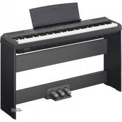 Yamaha P115 B + Statyw Yamaha L85 + Listwa Pedałów LP-5A Set2