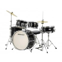 Millenium MX Jr. Junior Drumset dla dzieci 4-7 lat + Hardware + Talerze