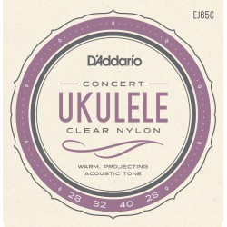 D'Addario EJ65C struny do ukulele koncertowego