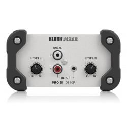 Klark Teknik DI10P pasywny di-box stereo in/mono out