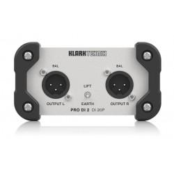 Klark Teknik DI20P pasywny di-box stereo in/out