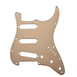 Fender Standard Stratocaster Pickguard 11-hole 1-ply Gold Anodized