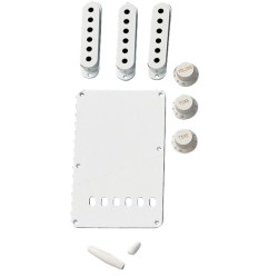 Fender Vintage-Style Stratocaster® Accessory Kit - White