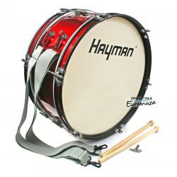 Hayman JMDR-1607 bęben basowy marszowy 16x7″
