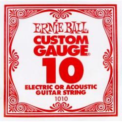 Ernie Ball 1010 struna pojedyncza 10