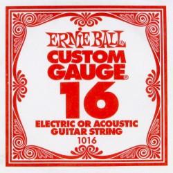 Ernie Ball 1016 struna pojedyncza 16