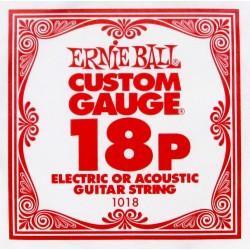 Ernie Ball 1018 struna pojedyncza 18