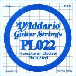 D′Addario PL022 struna pojedyńcza 22