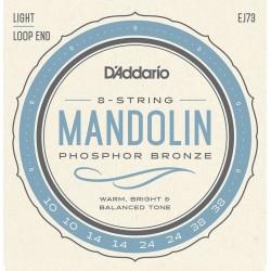 D'Addario EJ73 /10-38/ struny do mandoliny