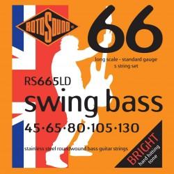 Rotosound RS665LD /45-130/ do basu 5 str stalowe