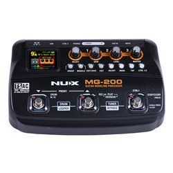 NUX MG-200 GUITAR EFFECTS PROCESSOR