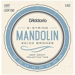 D'Addario EJ62 /10-34/ struny do mandoliny