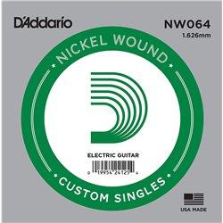 D′Addario NW064 Nickel Wound struna pojedyńcza
