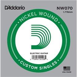 D′Addario NW070 Nickel Wound struna pojedyńcza
