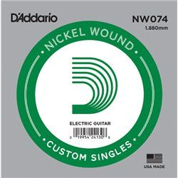 D′Addario NW074 Nickel Wound struna pojedyńcza