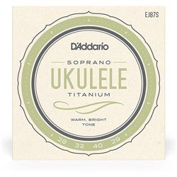 D'Addario EJ87S struny do ukulele sopranowego