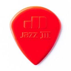 Dunlop Nylon Jazz III Red kostka gitarowa 1.38mm