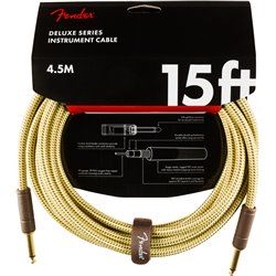 Fender Deluxe Cable Tweed 4,5m