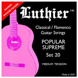 Luthier Set 20 Medium Popular Supreme