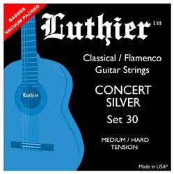 Luthier Set 30 Medium Hard Concert Silver