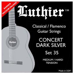 Luthier Set 35 Medium Hard Concert Dark Silver