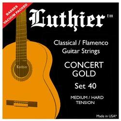 Luthier Set 40 Medium Hard Concert Gold