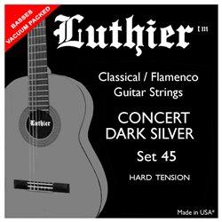 Luthier Set 45 Hard Concert Dark Silver