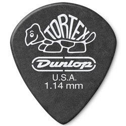 Dunlop 482R Tortex Pitch Black Jazz kostka gitarowa 1.14mm