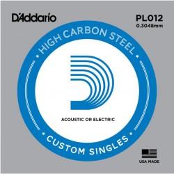 D′Addario PL012 struna pojedyńcza 12
