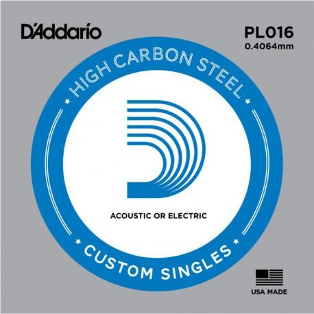 D′Addario PL016 struna pojedyńcza 16
