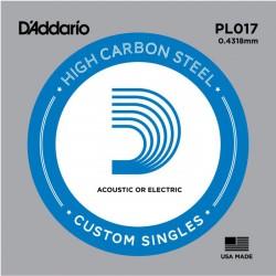 D′Addario PL017 struna pojedyńcza 17