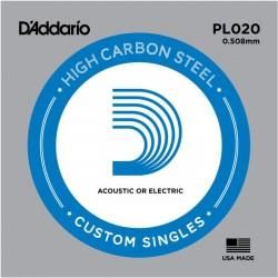 D′Addario PL020 struna pojedyńcza 20