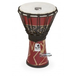 "Toca SFDJ-7RP Freestyle Djembe 7"" Bali Red"