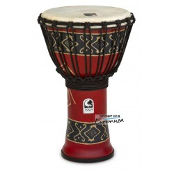"Toca SFDJ-9RP Freestyle Djembe 9"" Bali Red"
