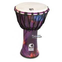 "Toca SFDJ-9WP Freestyle Djembe 9"" Woodstock"