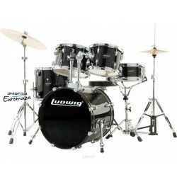 Ludwig Accent Drive BK + Hardware + Zildjian Planet Z