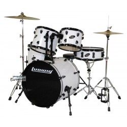 Ludwig Accent Fuse WH + Hardware + Zildjian Planet Z