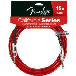 Fender California Cable 4,5 m czerwony