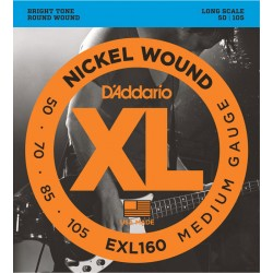 D'Addario EXL160 /50-105/ do basu 4 str