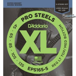 D'Addario EPS165-5 /45-135/ do basu 5 str