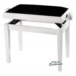 Gewa Ława do pianina 130020 Biały Mat