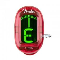 Fender FT-1620 Red Tuner na klips