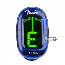 Fender FT-1620 Blue Tuner na klips