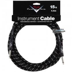 Fender Custom Shop Cable Black 4,5m