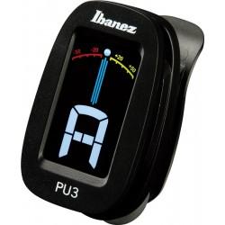 Ibanez PU3-BK Tuner na klips
