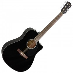 Fender CD-60SCE BK