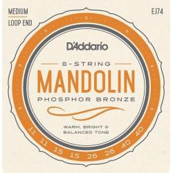 D'Addario EJ74 /11-40/ struny do mandoliny
