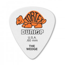 Dunlop 424R Tortex Wedge kostka gitarowa 0.60mm