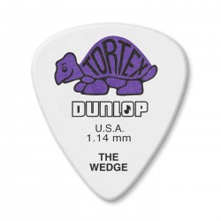Dunlop 424R Tortex Wedge kostka gitarowa 1.14mm