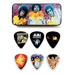 Dunlop JH-PT01M Jimi Hendrix Are You Experienced 12 kostek gitarowych